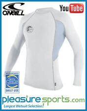 O'Neill Skins Rashguard Graphic Long Sleeve Crew Mens Rash Guard BEST SELLER
