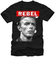 T-Shirts Sizes S-2XL New Authentic David Bowie Big Rebel Mens T-Shirt