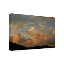 Red Clouds - Framed Canvas Art Print - Nature Art - Many Sizes