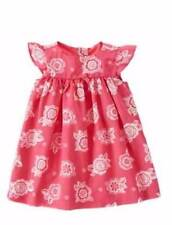 NWT Gymboree Girls Elephant Oasis Pink Flower Print Dress Size 6-12 M