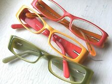 135 Pr Eyeglass Frames Eyeglasses Yellow Orange Kiwi Green Unisex Wholesale Lot