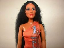 Mego Corp~1975~Cher~Over 12 Inch Tall-Poseable Action Figure~Made In Hong Kong~