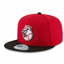 Cincinnati Reds New Era Youth Diamond Era 59FIFTY Fitted Hat - Red/Black - MLB