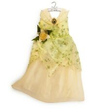 NWT DISNEY STORE PRINCESS TIANA COSTUME DRESS GOWN PRINCESS & FROG - 2013