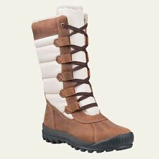 Timberland Women's Mount Holly Tall Size Waterproof Brown Winter Boots 6910B