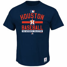 Houston Astros Majestic Authentic Collection Team Property T-Shirt - Navy - MLB