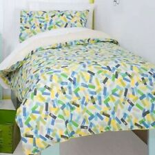 HICCUPS Sprinkles Pink or Blue, COT ,SINGLE or DOUBLE choice QUILT COVER SET NEW
