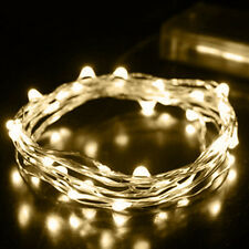 1Pc 2M String Fairy Light 20 LED Battery Operated Xmas Lights Party Wedding Well