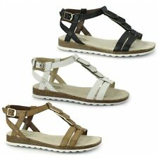 Hush Puppies BRETTA JADE Ladies Womens Open Toe Buckle Summer Sandals