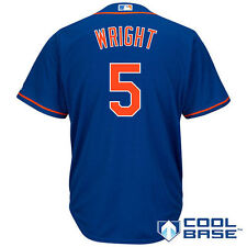Men's Majestic David Wright Royal New York Mets Cool Base Player Jersey - MLB