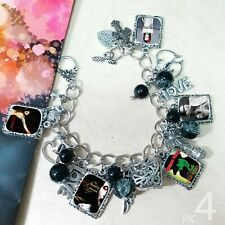 Marilyn Manson charm bracelet necklace