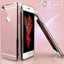 Ultra Thin Clear Transparent Soft Chrome Diamond Case Cover For iPhone 6 6s Plus