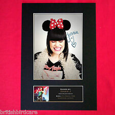 JESSIE J No1 Autograph Mounted Photo REPRO QUALITY PRINT A4 286