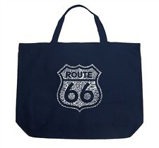 Large Tote Bag - Route 66 - Get Your Kicks