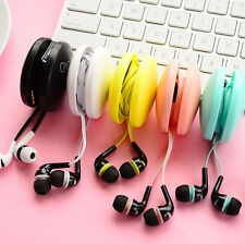 Tidy Winder Cable Cord Wrapped Wire Organizer With Headset Earphone For Phones