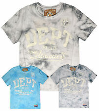 Boys Short Sleeved Athletic T-shirt New Kids Printed Sports Tee Tops Age 2-6 Yrs