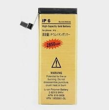 Gold High Capacity Replacement Internal Battery for iPhone 5 5C 5S 5SE 6 6S Plus