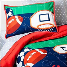 5 / 7 pc Circo SPORTS COMFORTER & SHEET Set  Football Basketball Soccer Baseball