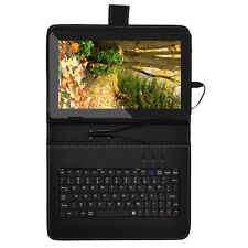 """16GB 10.1""""Android 4.4 Quad Core Touch Screen Tablet PC WIFI HDMI W 10"""" Keyboard"""