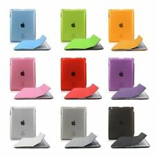Magnetic Smart Case Cover + Ultra Slim Back Case Stand For APPLE iPad