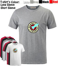 Unisex Futurama Planet Express Delivery Womens Mens Graphic Quality T-Shirt