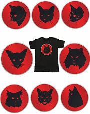Mens Cat T-Shirt Retro Cartoon Style *CHOOSE YOUR BREED* Sizes S-XXL