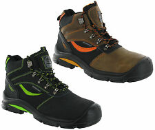 Groundwork Leather Composite Steel Toe Cap Safety Mens Work Ankle Boots UK7-11