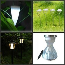 LED Garden Lamps Solar Power Path Wall Outdoor Spotlight Party Yard Lawn Lights