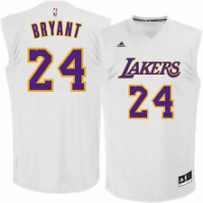 Kobe Bryant Los Angeles Lakers adidas Chase Fashion Replica Jersey - White - NBA