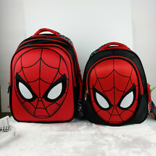 Boy Toddler Kid Child Kindergarten Plush Doll School Bag Backpack Hero Spiderman