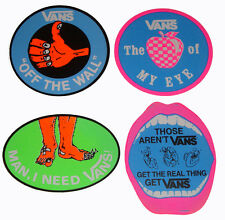 VANS SHOES - Retro 80s Sticker - Assorted Skateboard, Surf, BMX, Stickers