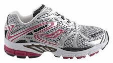 Kid's Saucony Progrid Guide 3 Running Shoes - Silver/Black/Pink - NIB!