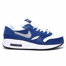 Nike Air Max 1 Blue White Youths Trainers