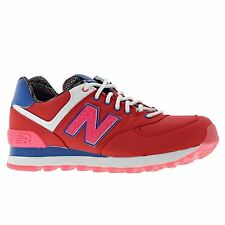 New Balance Classic Traditionnels Red Womens Trainers