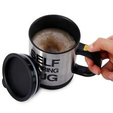 NEW 400ML Self Stirring Coffee Mug Double Insulated Automatic Electric Smart Cup