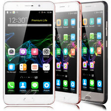 5.5'' Mobile Phone Android Quad Core 2 SIM GSM 3G Unlocked Smartphone GPS WIFI