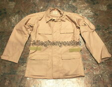 USGI Military TAN Fire Resistant Nomex Air Crew Combat SHIRT JACKET COAT NICE