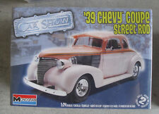 Monogram 1/24 Scale 1939 Chevy Coupe Street Rod Car Model Kit NIB