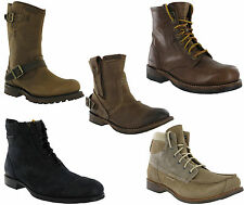CAT Caterpillar Raw Collection Mens Fashion Boots