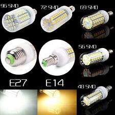 E14 E27 20/25/30W LED 56/69/72/96 5730 Cover Corn Spot Light Lamp Bulb 110/220V