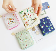 Willow Story Zipper Wallet Ver.2 Purse Card Pocket Case Coin Holder Cute Pattern