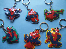 Spiderman Light - Up Keyrings Choice of 6 Designs Great party bag fillers gift