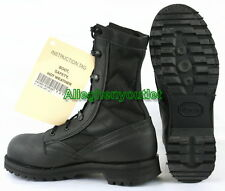 US Military Belleville HWS Hot Weather Safety STEEL TOE COMBAT BOOTS Black NIB