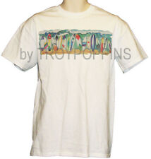 SURFING USA SURF BOARDS BEACH WAVES WEAR GEAR VACATION GRAPHIC PRINTED T-SHIRT