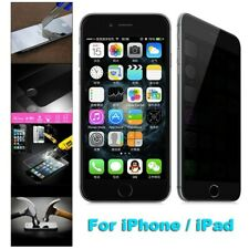 PRIVACY TEMPERED GLASS ANTI SPY SCREEN PROTECTOR for iPhone 5 5S 5C SE 6 6S PLUS