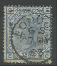1880 Sg 157 21/2d Blue (EC) Plate 22, good to fine used.