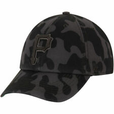 Pittsburgh Pirates '47 Flintlock Franchise Fitted Hat - Charcoal - MLB