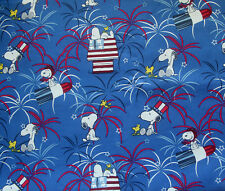 Snoopy Peanuts Fireworks Patriotic Dog over the collar Scarf - Bandana
