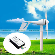 400W-720W 12/24 Volt Output Hybrid Kit:400W Wind Turbine Generator &Solar Panel