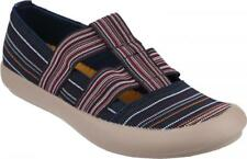 Cotswold CROMPTON Ladies Womens Canvas Textile Slip-On Comfortable Shoes Navy